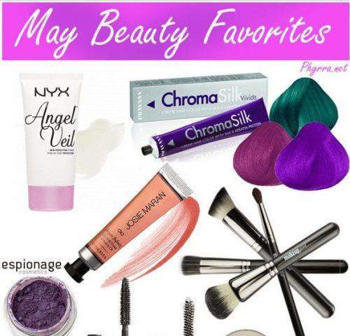 May Beauty Favorites
