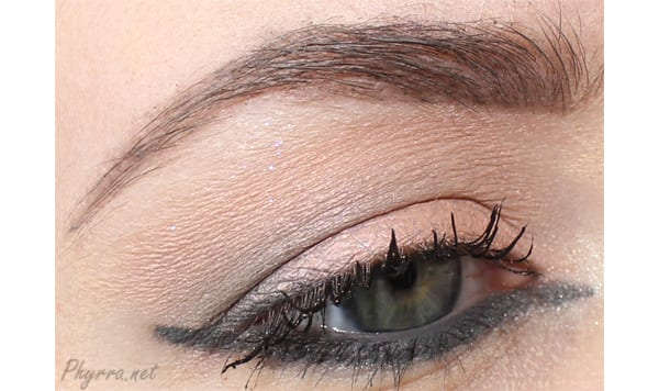 NARS Peachy Pink and Grey Eyeshadow Tutorial