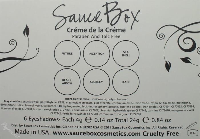 Saucebox Creme de la Creme Palette Review Swatches Video
