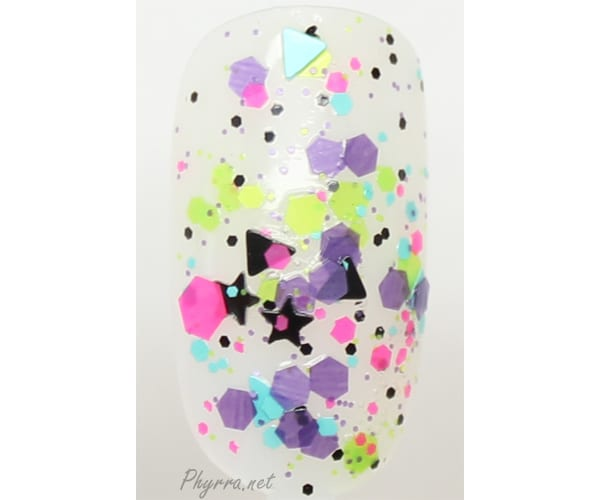 KBShimmer Scribble Me This Swatch