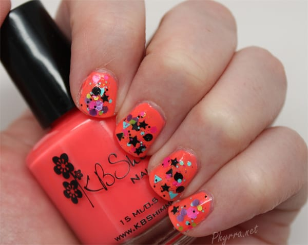KBShimmer Scribble Me This on top of You're So Shellfish