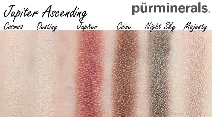 Pur Minerals Jupiter Ascending Collection Review, Video, Swatches, Giveaway