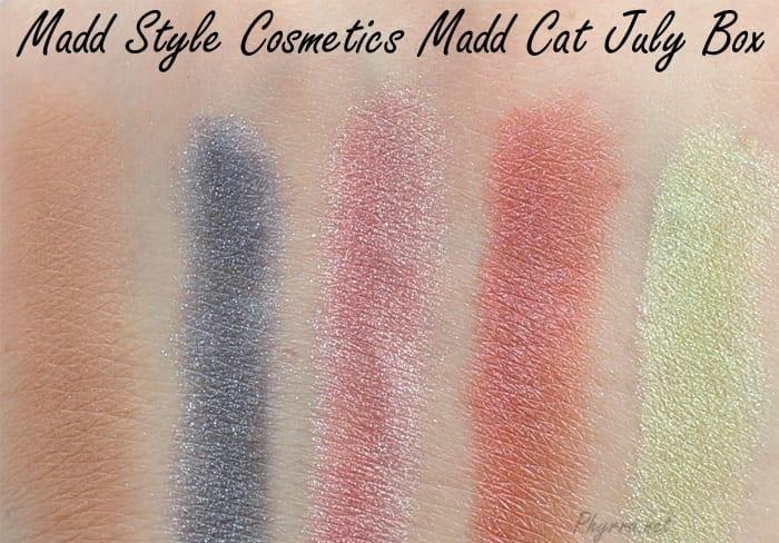 Madd Style Cosmetics Madd Cat July Box