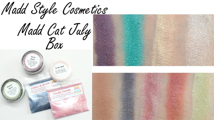 Madd Style Cosmetics Review Swatches Video