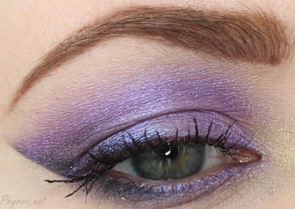 Urban Decay Omen eyeshadow tutorial