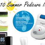 Top Ten Summer Pedicure Items