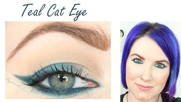 Teal Cat Eye Tutorial