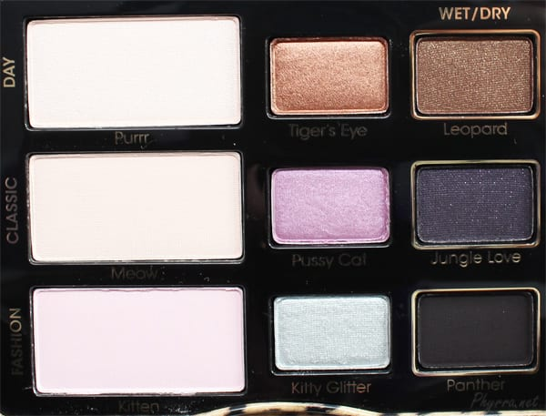 Too Faced Cat Eyes Palette Review Video Swatches