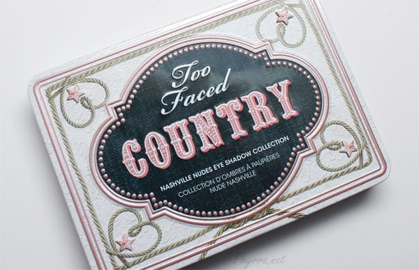 Too Faced Country Palette Review Swatches Video