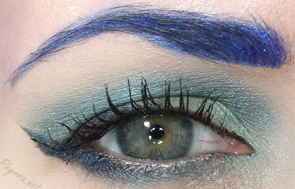 Blue Moon Lagoon Look with Sugarpill and Glamour Doll Eyes