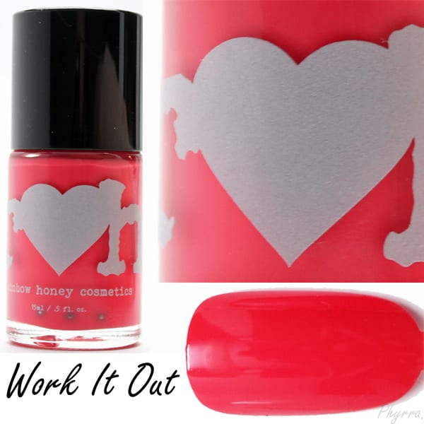 Rainbow Honey Work It Out Swatch
