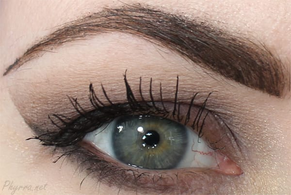 Saucebox Almond Look with the Etude Palette