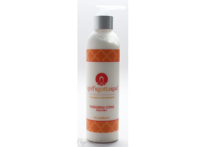 A Girl's Gotta Spa Energizing Citrus Body Lotion Review