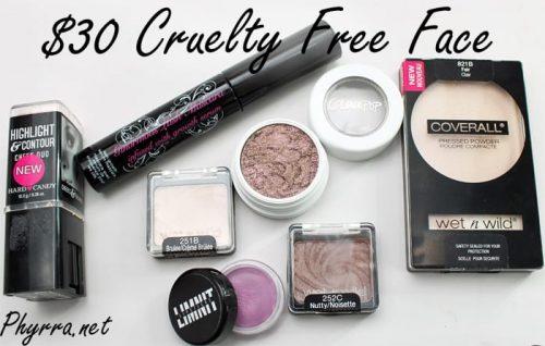 $30 Cruelty Free Face