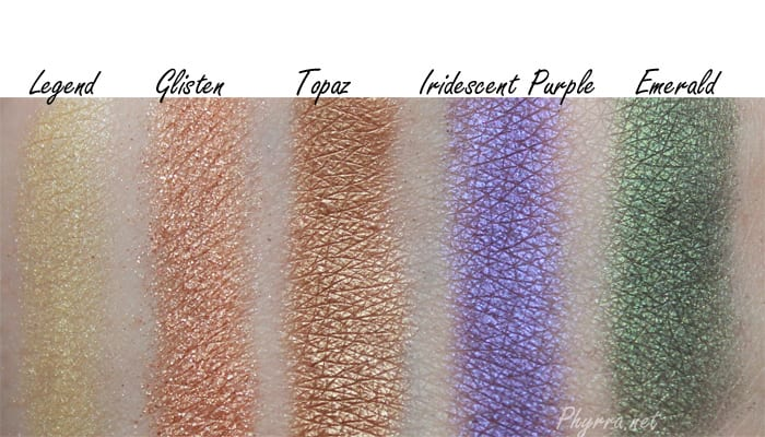 Anastasia Beverly Hills Amrezy Palette Review Swatches