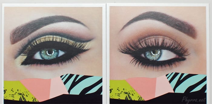 Anastasia Beverly Hills Maya Mia Palette Get the Look Cards