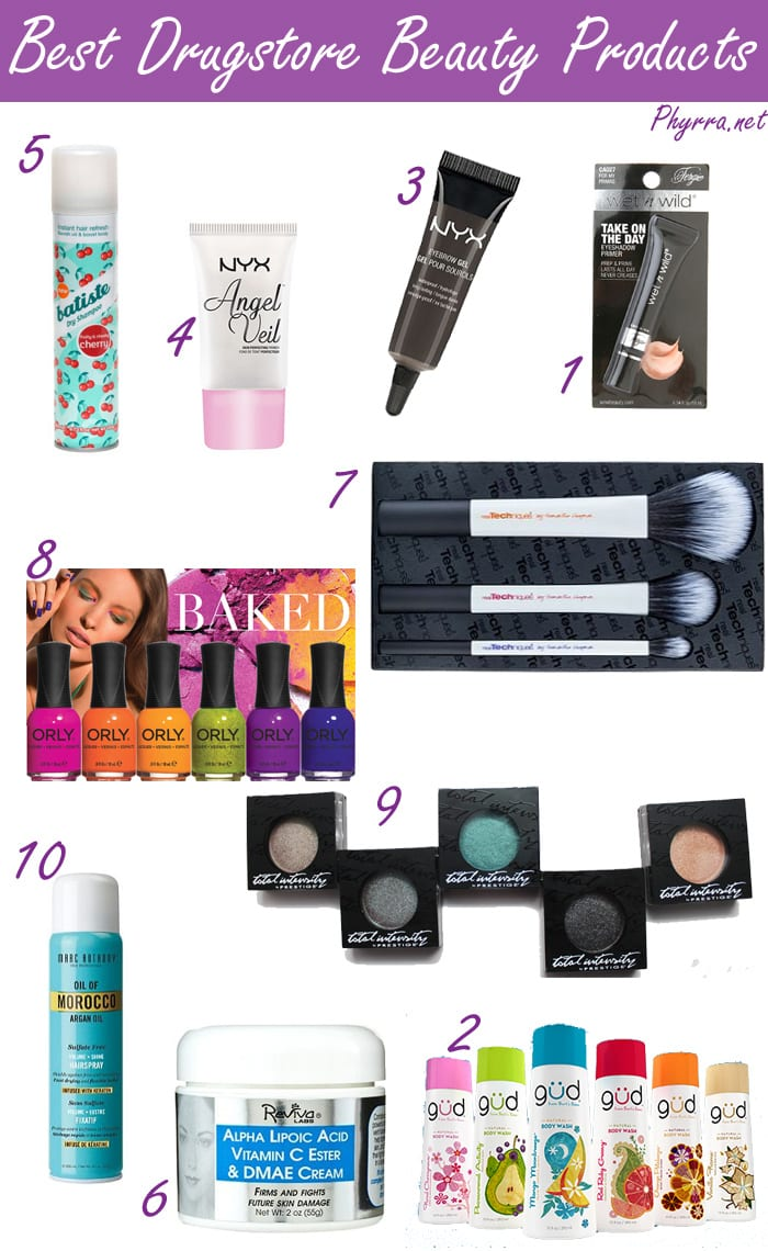 Best Drugstore Beauty Makeup and Hair Products