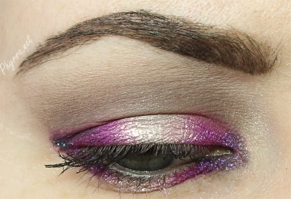 See a Halo eye tutorial with Colour Pop