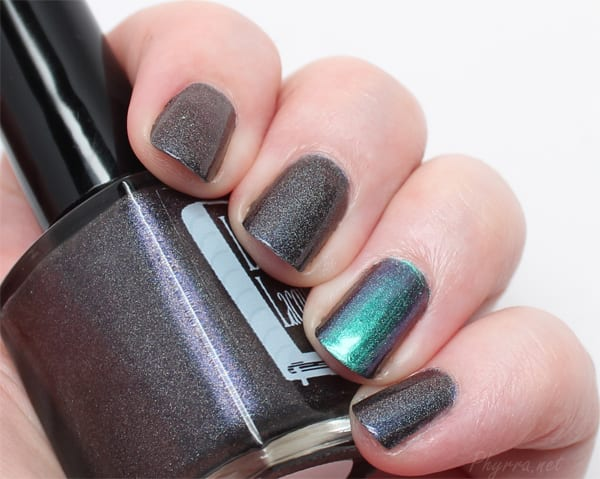 Literary Lacquers Camazotz with an accent of ILNP Sirene (H)