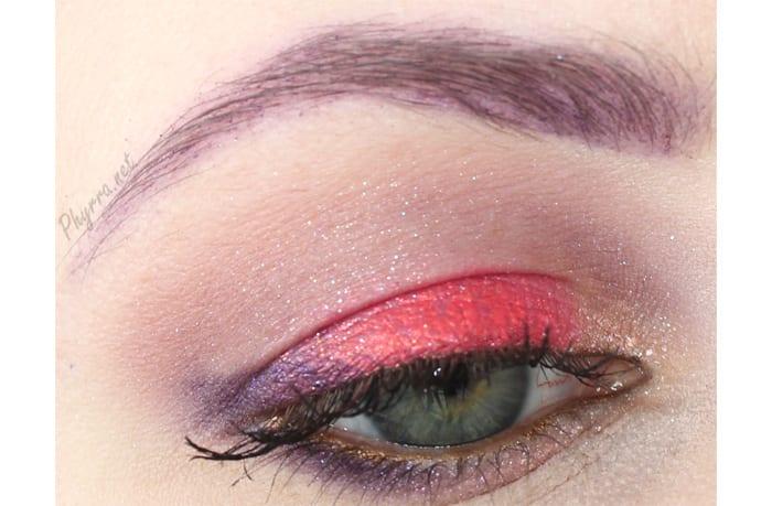 Red and Purple Eyeshadow Tutorial