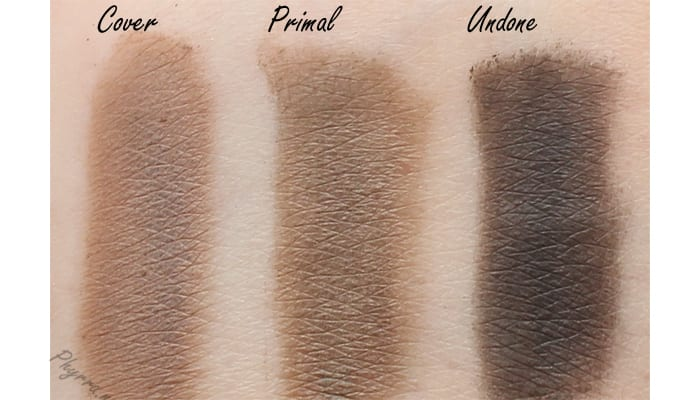 Urban Decay Naked 2 Basics Cover Primal Undone Swatch Review