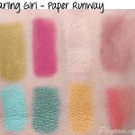 Darling Girl Paper Runway Eyeshadows