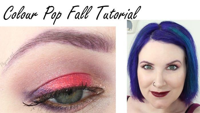 Colour Pop Fall Tutorial