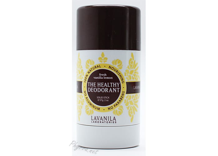 Lavanila The Healthy Deodorant Fresh Vanilla Lemon Review