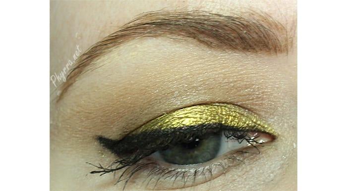 Wearing Makeup Geek Liquid Gold