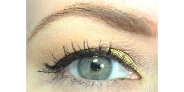 Makeup Geek Liquid Gold Look