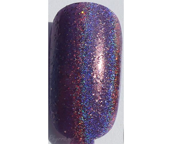 Literary Lacquers Megatron Swatch
