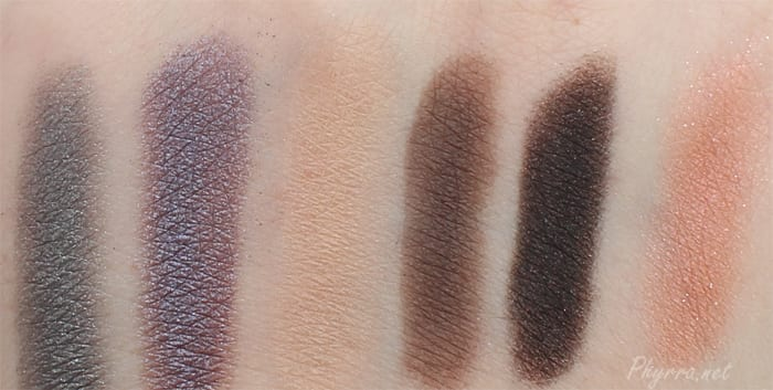 NARS Fall 2014 Swatches Review
