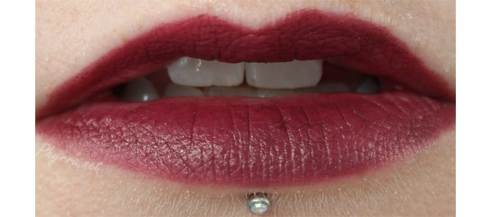 NARS Audacious Lipstick in Ingrid Swatch Review
