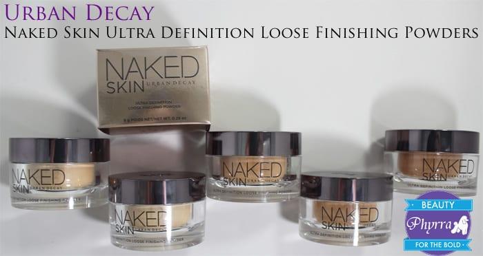 Urban Decay Vegan Naked Skin Ultra Definition Loose Finishing Powders