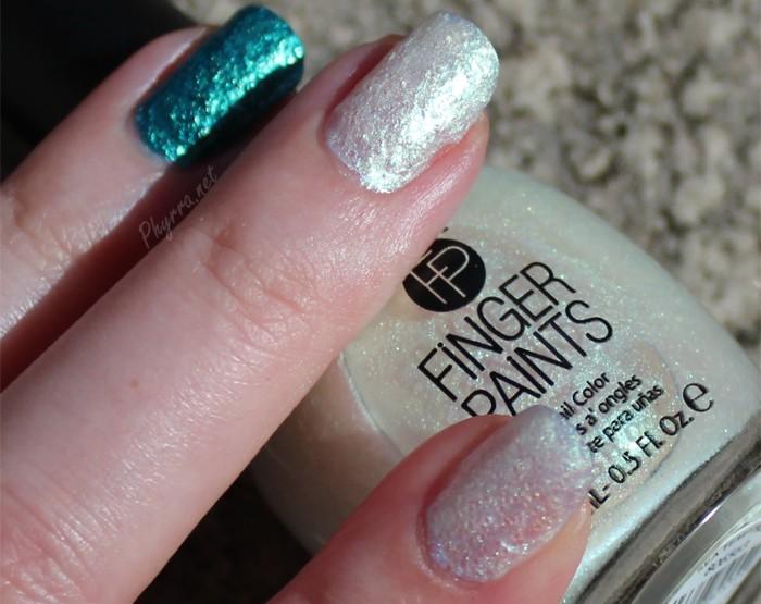 Teal Enchanted Mermaid Nails
