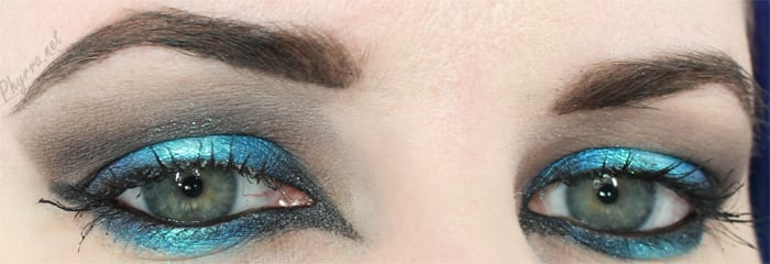 Sugarpill Turquoise and Grey Tutorial