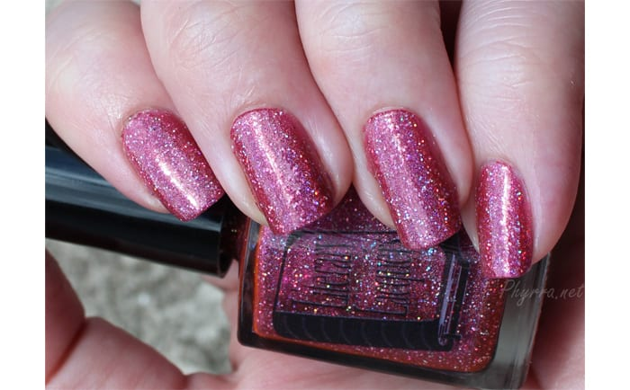 Wearing Literary Lacquers LE To Blossom Nail Polish
