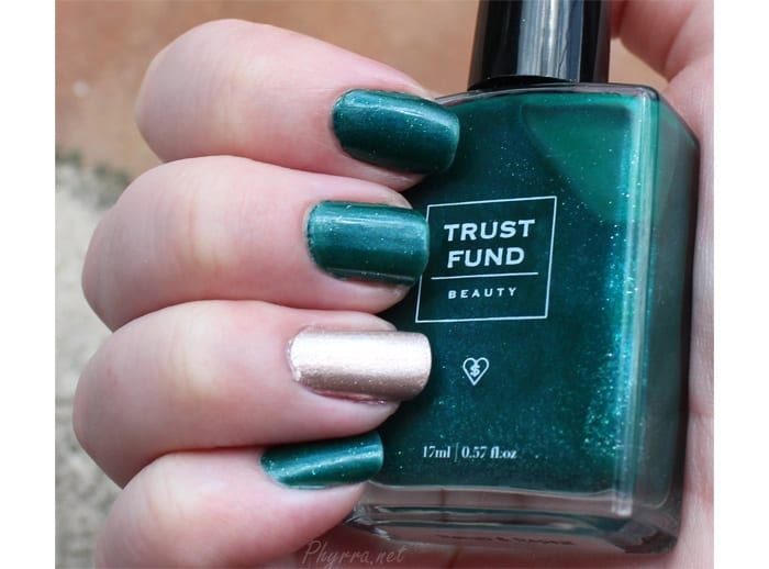 Trust Fund Beauty Champagne Problems and Rehab and Repeat Swatches