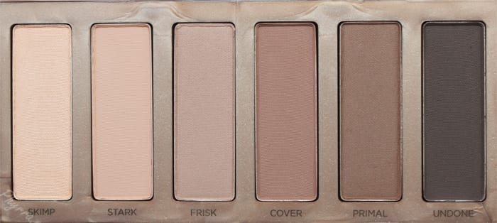 Urban Decay Naked 2 Basics Review Swatches