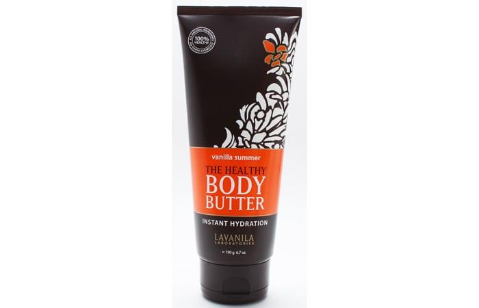 Lavanila The Healthy Body Butter Vanilla Summer Review