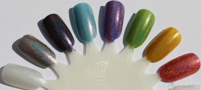 Literary Lacquers Wrinkle in Time Collection Review Swatches