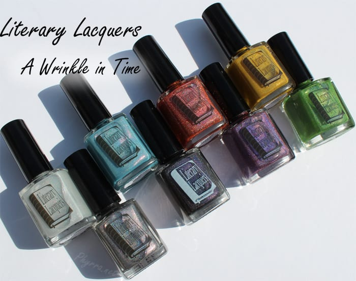 Literary Lacquers Wrinkle in Time Collection