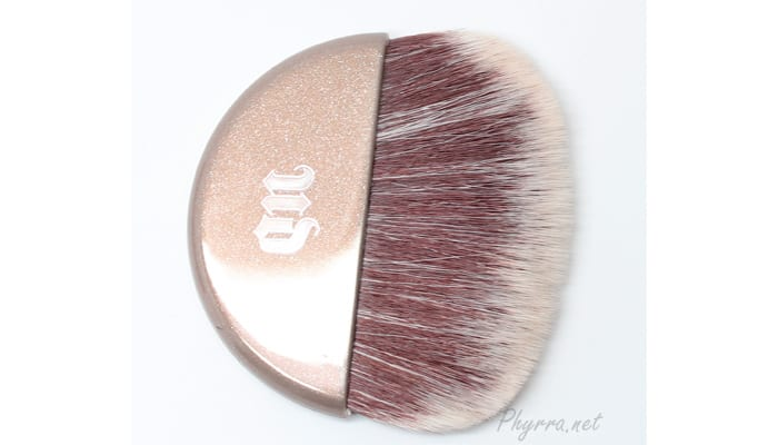 Urban Decay Naked Illuminated Shimmering Powder in Aura Review Swatches