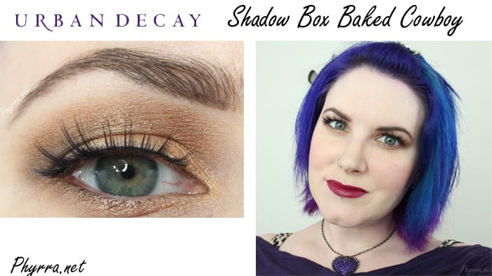 Urban Decay Baked Cowboy Tutorial