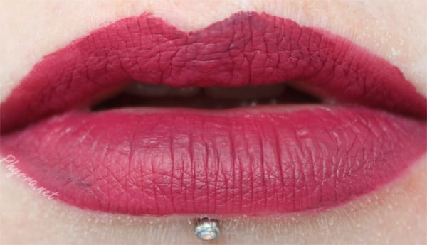 Dose of Colors Berry Me Lip Swatch