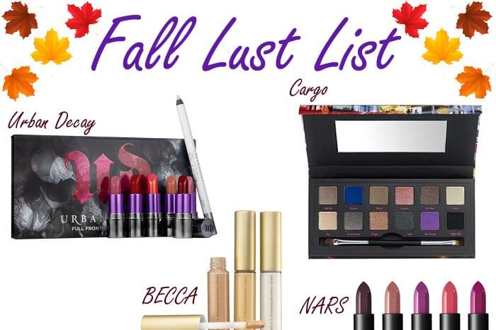 Fall Lust List