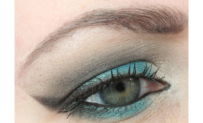 Urban Decay Fringe and Anger Look