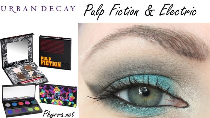 Makeup Wars Urban Decay Pulp Fiction vs. Naked Basics