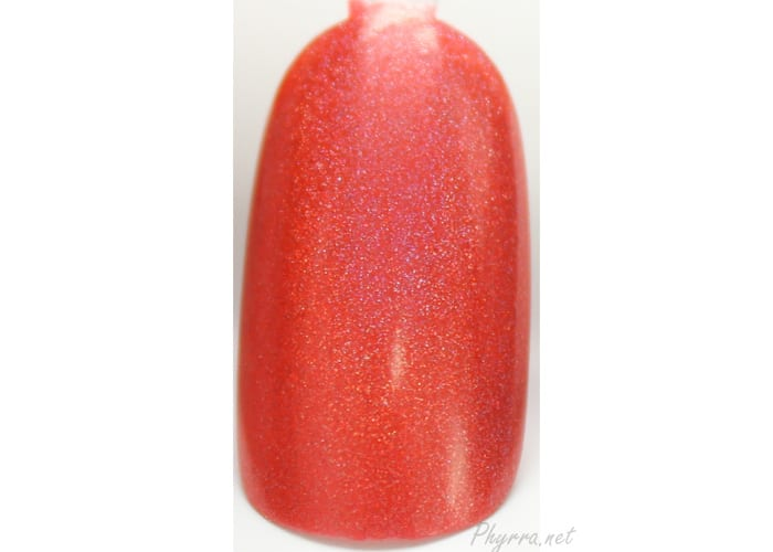 KBShimmer Rust No One swatch