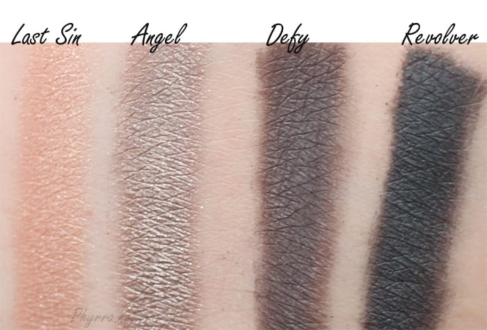 Urban Decay Vice 3 Last Sin, Angel, Defy, Revolver, Video, Review, Swatches